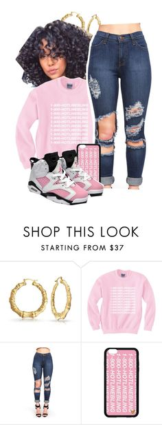 """Hotline Bling"" by dajvuuloaf ❤ liked on Polyvore featuring Bling Jewelry and Retrò"