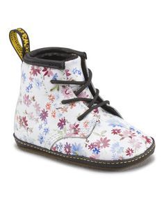 This Blue Floral Auburn Bootie is perfect! #zulilyfinds