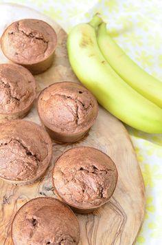 Griekse yoghurt muffins met banaan9