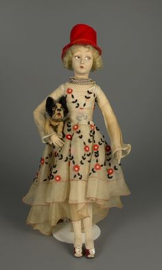 73.1723: doll | Cloth and Rag Dolls | Dolls | National Museum of Play Online Collections | The Strong