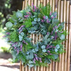 Lavender - silk flowers Silk Flowers, Lavender, Floral Wreath, Wreaths, Decor, Floral Crown, Decoration, Door Wreaths, Deco Mesh Wreaths