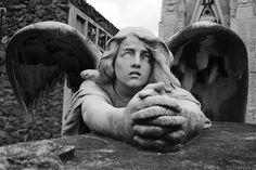 Post anything (from anywhere!), customize everything, and find and follow what you love. Create your own Tumblr blog today. Cemetery Angels, Cemetery Statues, Angel Statues, Cemetery Art, Crying Angel, Angel Sculpture, Bronze Sculpture, Angel Aesthetic, Mystique