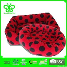 Wholesale cute black dot  dog mat /dog  bed/ dog c