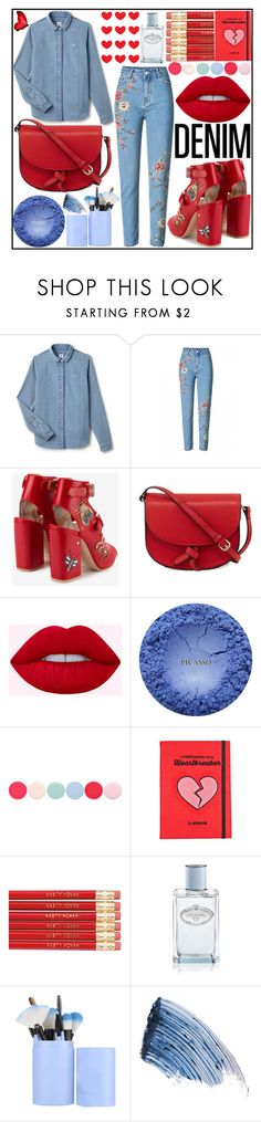 """""""Без названия #54"""" by kravchenkotn ❤ liked on Polyvore featuring Lacoste L!VE, Laurence Dacade, KC Jagger, Nails Inc., Valfré, Prada and Sisley"""