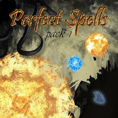 Perfect Spells Pack 1 |  Wonderful set of spells, area effects, or just visual effects, compatible with Pathfinder, D&D 3.5 and other systems.  https://marketplace.roll20.net/browse/set/816/perfect-spells-pack-1