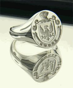 Always thought these had style! Family Wax Seal Rings