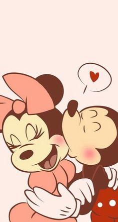 Mickey and Minnie Love❤