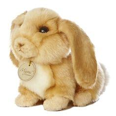 82eb98c27087 Realistic Stuffed Lop-eared Bunny 8 Inch Plush Animal by Aurora