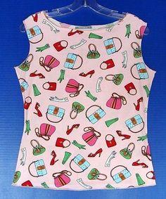 FASHIONISTA Bodyhugging TOP Shirt L 12 14 16 Designer Stretch Fashion Accessory | eBay