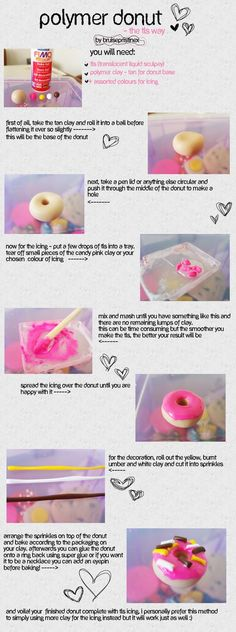 Polymer Donut TLS Tutorial by ~bruisepristinex on deviantART