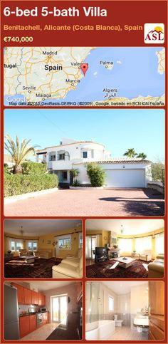 6-bed 5-bath Villa in Benitachell, Alicante (Costa Blanca), Spain ►€740,000 #PropertyForSaleInSpain