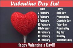 day wishes Valentineamp; Day wishes Valentines Day 2020 Date List / 2020 - Valentines. Day wishes Valentines Day 2020 Date List / 2020 Valentines Day 2020 Date Li - Valentines Day Sayings, Valentine Day Week List, Day Before Valentines Day, Happy Valentines Day Images, Valentines Day Date, Happy Kiss Day, Happy Propose Day, Propose Day Wallpaper, Teddy Day