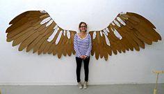 Image result for cardboard wings