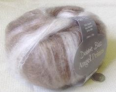 SALE 45% OFF Mohair-Silk Blend Angel Prints by Debbie by petitknit