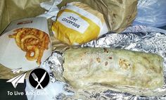 Late night munchies and El Gallito's Burrito. Review link in bio! http://ift.tt/1UANncf #ToLiveAndDine #Foodie #Travel #Wanderlust #Comedy #Blog
