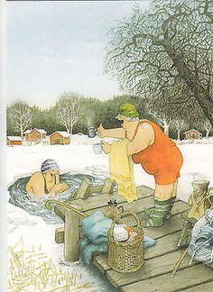 New-single-postcard-by-Inge-Look-old-ladies-winter-swimming