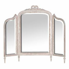 Our shabby chic bedroom ideas are the perfect way to style your bedroom plus other homeware and decorating ideas from Red Online. Dressing Table Triple Mirror, Dressing Room Mirror, Shabby Chic Interiors, Shabby Chic Bedrooms, Trumeau, Style Oriental, Bedroom Accessories, Inspired Homes, Dream Bedroom