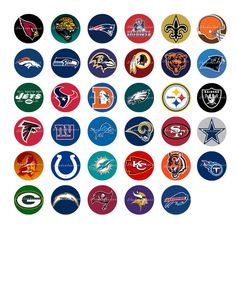 nfl playoffs interactive bracket project | team logo, nfl football ... - Nfl Football Logos Coloring Pages