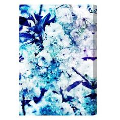 Shop for Oliver Gal 'Blossoming Kalesi' Floral and Botanical Wall Art Canvas Print - Blue, White. Get free delivery On EVERYTHING* Overstock - Your Online Art Gallery Store! Canvas Art Prints, Canvas Wall Art, Fine Art Prints, Painting Frames, Painting Prints, Oliver Gal Art, Botanical Wall Art, Leonid Afremov Paintings, New Wall