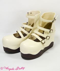 Angelic Pretty Melty Chocolate Shoes
