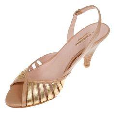 La garconne Nadine Gold/Beige Beige, Sandals, Gold, Shoes, Fashion, Ladies Shoes, Moda, Shoes Sandals, Shoe