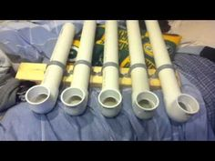 PVC pipe instrument - YouTube