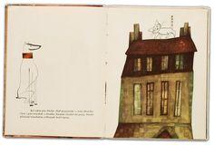 Illus. by Bohdan Wróblewski for Wesołe odwiedziny, 1964 From the collection of Hipopotam