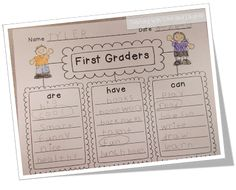 Teaching With Love and Laughter: Kindergarten and First Grade Writing.  great end of the year idea for my 5K kiddos
