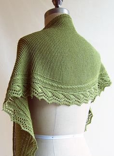 Millrace shawl by Elizabeth Doherty