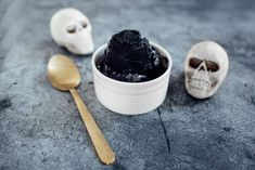 Activated Charcoal Black Ice Cream