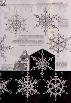 New Ideas Crochet Christmas Doily Snow Flake Crochet Snowflake Pattern, Crochet Stars, Crochet Snowflakes, Thread Crochet, Crochet Motif, Crochet Doilies, Crochet Flowers, Crochet Patterns, Snowflake Craft
