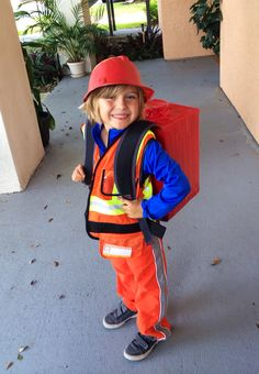 DIY Emmet from the Lego movie costume