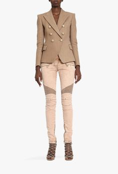 Balmain - the designer whose clothes I would looooove to wear every day!