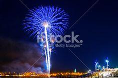 Fireworks display Royalty Free Stock Photo