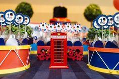 Venha se encantar com a festa infantil soldadinho de chumbo em Londres!