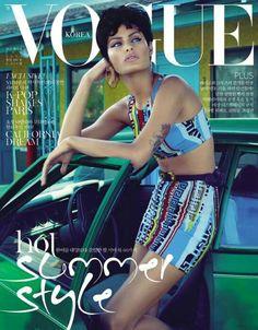 Isabeli Fontana by Mert Alas and Marcus Piggott for Vogue Korea July 2011