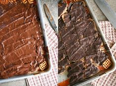 Pretzel Toffee Recipe – Just Imagine – Daily Dose of Creativity Christmas Crackle Recipe, Pretzel Toffee Recipe, Big Cookie, Cookie Swap, Yummy Treats, Sweet Treats, Favorite Cookie Recipe, Favorite Recipes, Toffee Candy