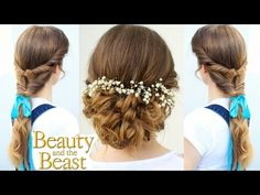 Emma Watson's Belle Inspired Hairstyles | Beauty and the Beast | Braidsandstyles12 - YouTube