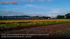 Papasan Kereta Api Sancaka dan Joglokerto (Dhannie Setiawan)