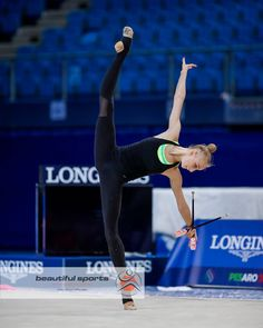 Olena DIACHENKO (Ukraine) ~ Training Clubs for concour @ World Cup Pesaro-Italy 2017  Photographer Ulrich Fassbender (Germany).