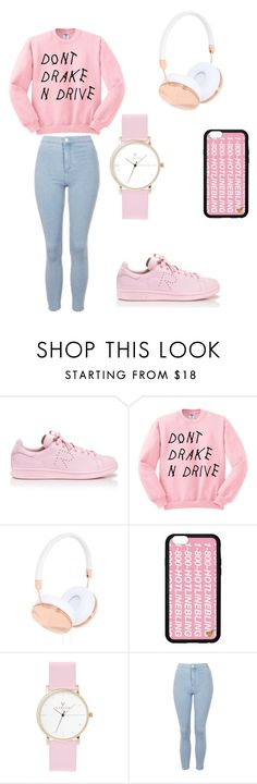 """""""Don't Drake and drive ♡"""" by eirinimaria ❤ liked on Polyvore featuring adidas, Frends, Laruze and Topshop"""