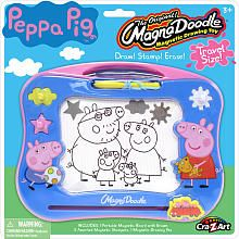 Peppa Pig Travel Magna Doodle Magnetic Drawing Toy