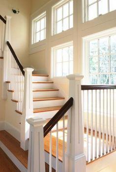 Beautiful staircase & windows!