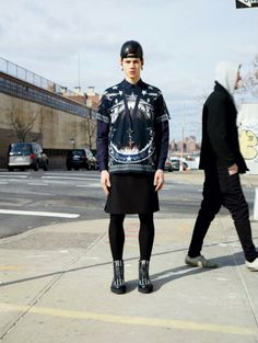 Givenchy Men Fall 2012 Collection
