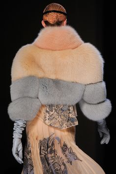 Jean Paul Gaultier    only if it's in faux fur though