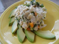 Crab Salad with Lime and Avocado Recipe on Yummly. @yummly #recipe