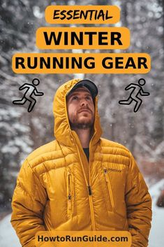 Find out what gear is necessary to run through the winter. Don't let weather get in your way.just get the right winter running gear and you'll crush your running goals despite cold temps! Running Workouts, Workout Gear, No Equipment Workout, Yoga Workouts, Workout Tanks, Running Tips, Trail Running, Cold Weather Running Gear, Winter Running