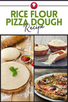 If you are constantly on the lookout for a gluten free pizza crust, maybe rice flour is your answer. Try out this recipe and make some homemade pizza tonight! #riceflour #pizzadoughrecipe #glutenfree #homemadepizza #recipe Rice Flour Pizza Dough Recipe, Gluten Free Pizza, Gluten Free Recipes, Veggie Recipes, Cooking Recipes, Food Crafts, Dry Yeast, Glutenfree, Homemade
