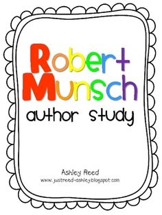 Think I am gonna have to buy this thematic unit for Kieryn she LOVES Robert Munsch books they make her giggle & giggle and this covers a bunch of books :)