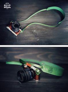 Custom Leather Camera Strap, Skinny, Camera, Thin Camera Strap, personalized…